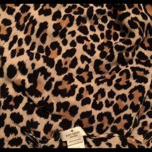 kate spade ♠️ Leopard Print Scarf